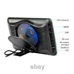 10.11024600 Car Headrest with Monitor DVD Video Player Portable Car TV Monitor