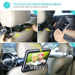 10.1 Car DVD Player Monitor HDMI USB/SD AV IN/OUT with Headrest Mount Headphone