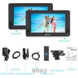 10.1 Dual Screen Portable DVD Player for Car HDMI Input Battery USB Region Free