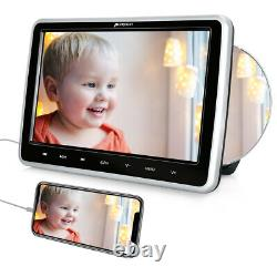 10.1 HD Car Backseat Monitor Portable DVD Player TV Screen HDMI USB AV-IN/OUT