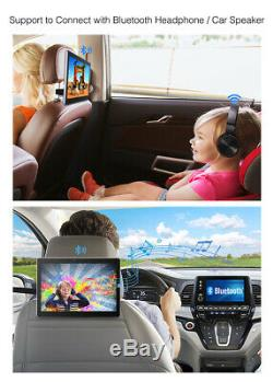 10.1 IPS Android Car Headrest Monitor Screen Bluetooth 1080P WIFI Touch Screen