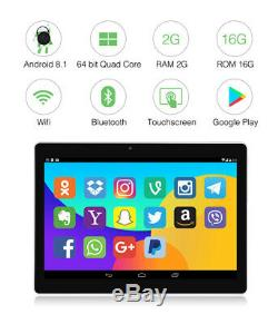10.1 IPS Touch Screen Android Car Headrest Monitor TV Video Player WiFi Camera
