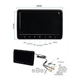 10.1 Inch Portable Car Headrest Dvd Player and Super-Thin Design with AC. New