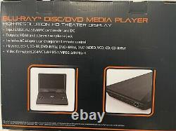 11.4 Portable Blue-Ray DVD Player