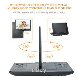 12 Full HD Portable Blu-ray DVD Player 1080P Video HDMI Dolby Audio with Headset