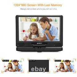 12 HD Portable Blu-Ray DVD Player 1080P HDMI Rechargeable Battery MP4 USB Dolby