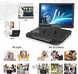 12 Inch Portable Blu Ray DVD Player with HDMI In / Output Built-in