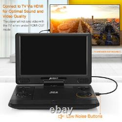 12 Portable Blu Ray DVD Player Rechargeable Battery HDMI Region Free USB AV IN