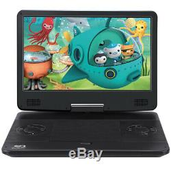 14 Full HD 1080P Car Portable Blu-ray DVD Player HDMI USB Battery AV-IN/OUT AUX