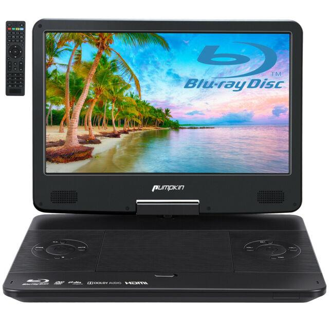 14 Inch Portable Blu-ray Dvd Player For Car Full Hd 1080p With Hdmi Output Input