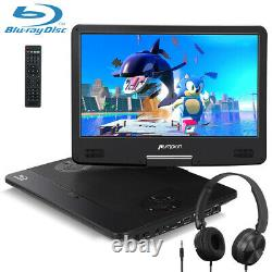 14 Inch Portable Blu-ray DVD Player HD1080P HDMI Rechargable AUX Dolby headphone