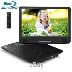 14 Portable Blu-ray DVD Player TFT HD Screen HDMI Dolby Audio AV IN/OUT Battery