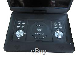 16 Portable Rotatable Screen DVD Player with Game, FM, TV, USB & MC Card Port