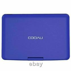 17Portable DVD Player HD CD/DVD Player 169 LCD Swivel Screen Rechargeable USB