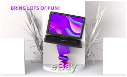 17.5 Portable DVD Player with 15.6 Large HD Screen, 6 Hours Rechargeable TV
