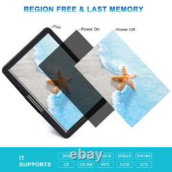 19 Full HD Portable DVD Player with 16 Large Screen R. Echargeable Battery HDMI