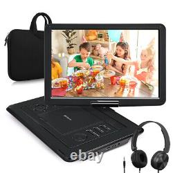 19 Full HD Portable DVD Player with 16 Screen HDMI 1080P USB SD AV-IN+Headset