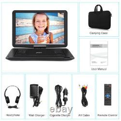 19 Portable DVD Player with16 Large Screen HDMI 1080P Memory Region Free+Headset