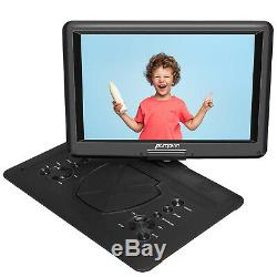 19 Portable DVD Player with 16 Large HD Screen 1366768 HDMI USB 6 Hrs Battery