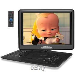 19 Portable DVD Player with 16 Large Screen 1080P Full HD HDMI Region Free USB