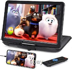19 Portable DVD Player with 16 Large Screen, HDMI Input, 6 Hours Battery, 1080P