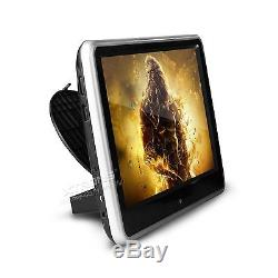 1x 10 Touch DVD USB/SD Player Portable Car Headrest Monitor Game Disc Headset
