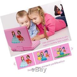 9.5 Inch Portable DVD Player for Car with Games Function for Kids, USB/SD Slo