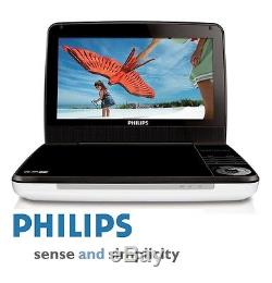 All Region Free Philips Pd9000 9 LCD Portable Multizone DVD Player 5 Hr Battery
