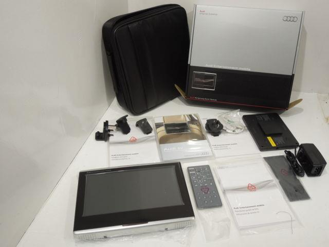 Audi Portable Rear Entertainment Dvd Player And Accessories New 4g0051700f