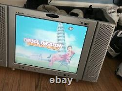 AudioVox D1210 12 Portable LCD Color TV/Monitor & DVD Player