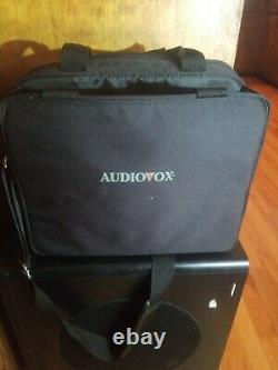 Audiovox (ADV12) 12 Portable LCD Vintage Video Gaming Monitor DVD Player Tested