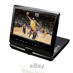 Azend Group Corp Maxmade Portable 10-in Blu-Ray DISC/DVD Player (Black)