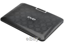 BW 14 Inch Portable DVD Player with Copy Function, 270 Degree Rotating Screen