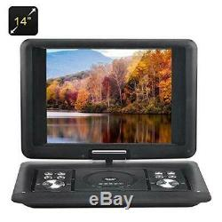 BW Portable DVD Players 14 Inch Player with Copy Function, 270 Degree