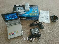 Boxed Panasonic DVD-LV50 Portable DVD player Collector Quality! Rechargeable