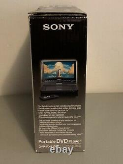 Brand NEW Sony DVP-FX930 Portable DVD Player (9) NEVER USED