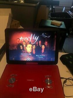 COOAU 17.9 Portable DVD Player with 15.6 Large Swivel Screen