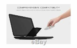 COOAU 17.9 Portable DVD Player with 15.6 Large Swivel Screen, 6 Hrs Long La