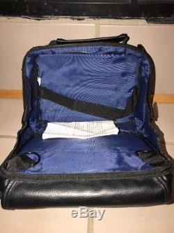 Case Logic Carrying Case, Black, Leather, Portable DVD Player Case