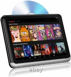 DDAuto 10.1 Android Headrest DVD Player with Battery for Portable Use