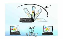 DR. J 17.9 Region Free Portable DVD Player with 6 Hours Rechargeable Battery