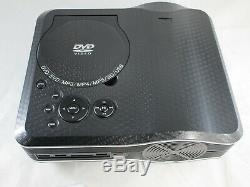 DVD Projector DVD Player Built In, LED, 800 x 600, 30 Lumens, 1001 Contrast