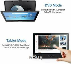 Digiland Portable Dvd Player/Android Wi-Fi Tablet Combo 10.1-Inch Touchscreen, Q