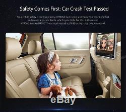 Dual 10.1 HD Portable Active Touch Screen Monitor Car Headrest DVD Player Game