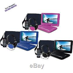 Ematic 14 Portable DVD Player with Remote, Carrying Case and Headphones