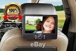 Genuine Voyager 9 inch In Car Portable DVD Player with Easy Fit Mount Brand New