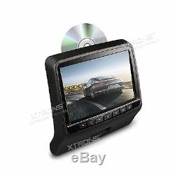 HDMI Black Pillow 9 Car Video Headrest LCD Monitor Journey Portable DVD Player