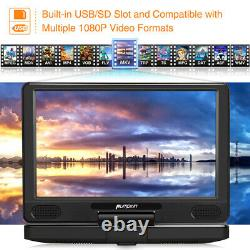 HD 12 Portable Blu Ray DVD Player Rechargeable Battery HDMI Region Free USB SD
