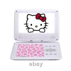HELLO KITTY Portable DVD Player AVOX 9 inch PINK ADP-9030MKTY-P From Japan F/S