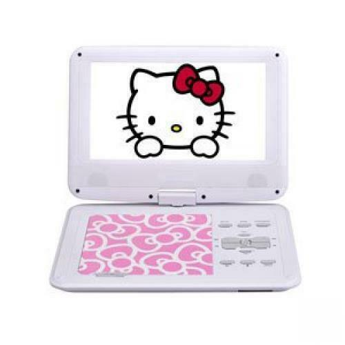 Hello Kitty Portable Dvd Player Avox 9 Inch Pink Adp-9030mkty-p Import Japan